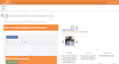 Preview of consultamedicaenlinea.net